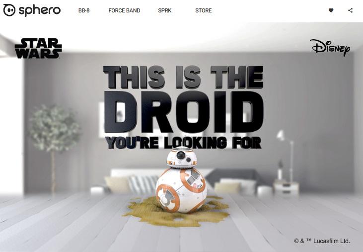 スター・ウォーズファン必見。音声認識するリアルサイズに近いBB-8トイが登場 & R2-D2語に翻訳してくれるヘルメットを自作できる、らしい!